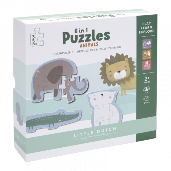 Puzzle ZOO - Little Dutch