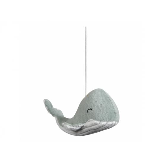 Dřevěný kolotoč OCEAN mint - Little Dutch