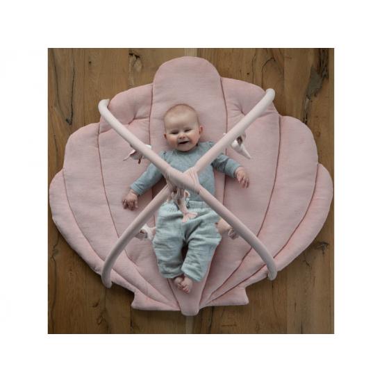Hrací deka s hrazdičkou OCEAN pink - Little Dutch