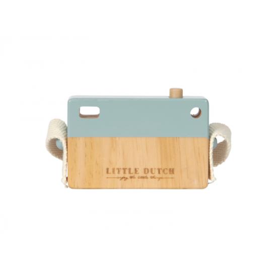 Dřevěný fotoaparát mint - Little Dutch