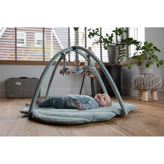 Hrací deka s hrazdičkou OCEAN mint - Little Dutch