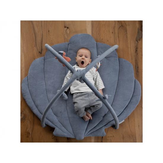 Hrací deka s hrazdičkou OCEAN blue - Little Dutch