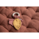 Listy na dřevěném kroužku červené PURE & NATURE - Little Dutch