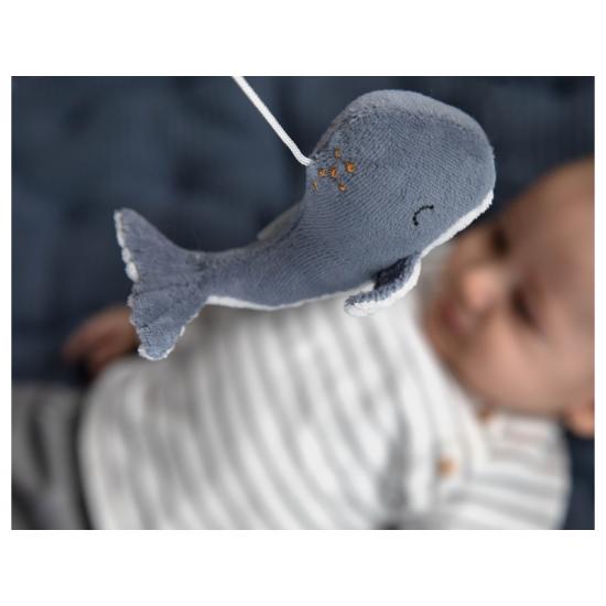 Dřevěný kolotoč OCEAN blue - Little Dutch