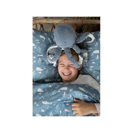 Plyšová chobotnička 22cm OCEAN blue