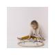 Dřevěný vláček s dráhou pink - Little Dutch