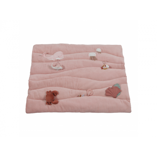 Hraci deka OCEAN pink